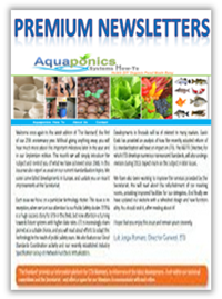 aquaponics premium newsletter